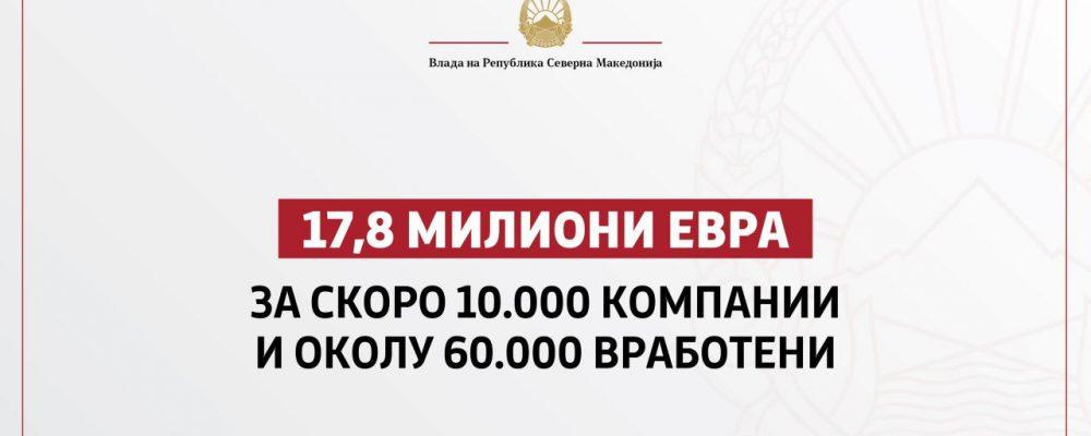Презентиран шестиот пакет економски мерки од страна на Владата